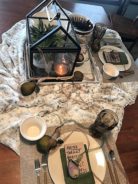 thanksgiving table layout inspired by amy louise